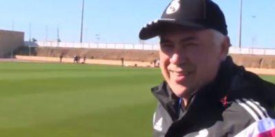 Dijo que el secreto es mantener el pie duro Foto:Youtube: Real Madrid C. F.