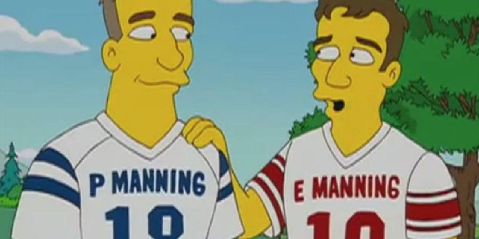 Payton y Eli son jugadores de la NFL. Foto:FOX