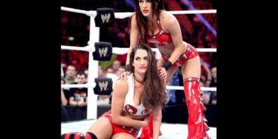 Así lucía el año pasado Foto:WWE