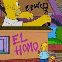 La feliz ignorancia de Homero siempre nos demuestra que no es tan malo entregarse a lo fácil y absurdo. Por otro lado, Lisa siempre es rechazada por si propia familia por ser culta y diferente. Foto:We Heart It