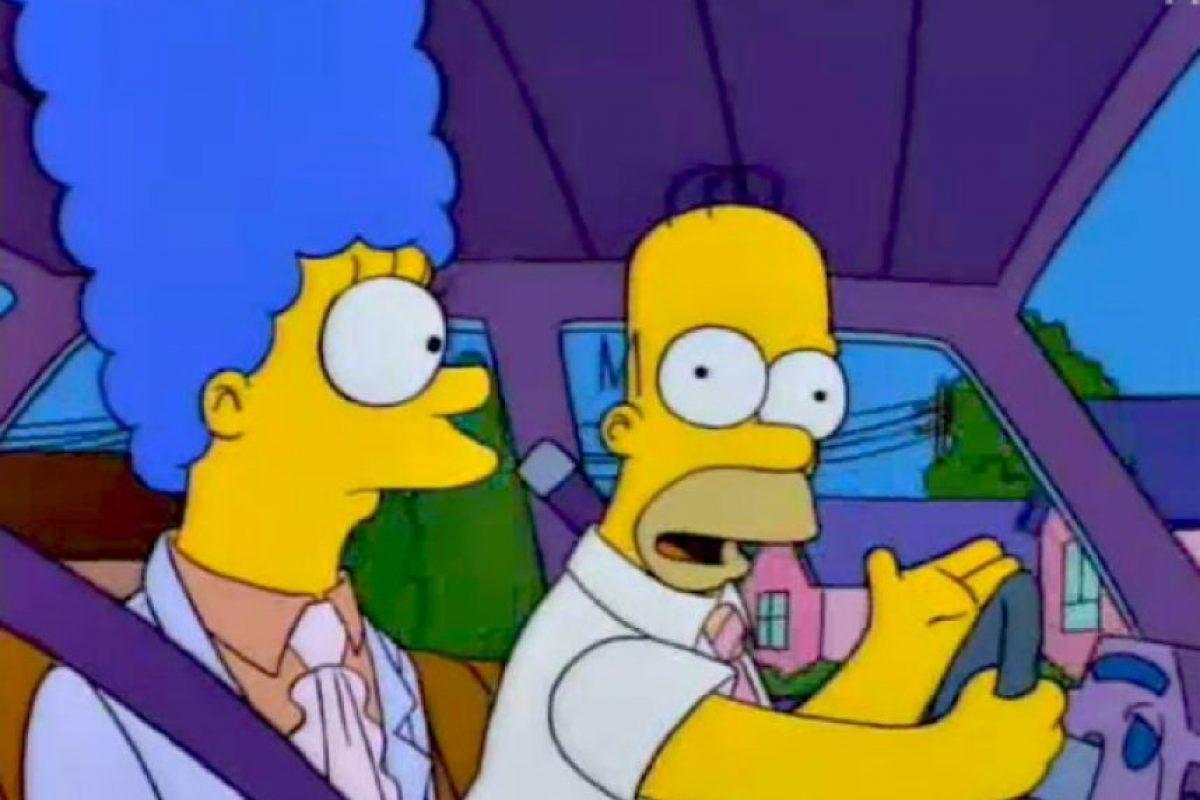 Esto se demuestra cuando Homero infringe alguna ley y Marge le autoriza seguir rompiéndola. Foto:We Heart It