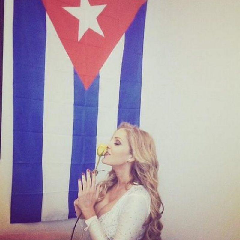 Malillany Marín, la actriz es originaria de Cuba Foto:Twitter