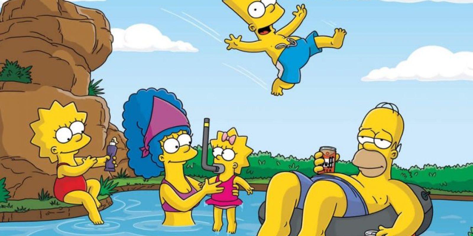 """""""Es importante aprender a torear las cosas. Es lo que nos separa de los animales… ¡Excepto del toro!"""" Homero Foto:Internet"""