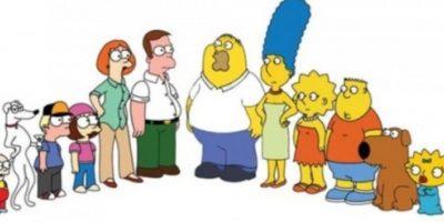 """""""Los Simpson"""" en su versión de """"Padre de familia"""" Foto:Twitter"""""""