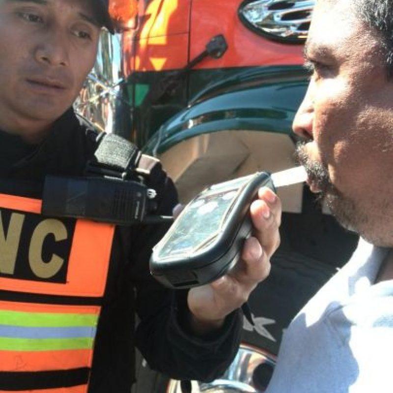 Hasta ahora ninguno ha sido multado. Foto:PNC Tránsito