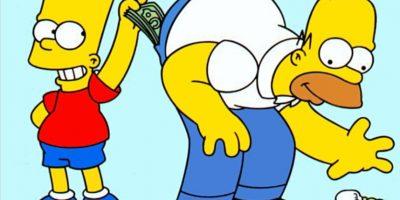 """""""Puede tomar el volante,tengo que rascarme en 2 lugares al mismo tiempo"""" Homero Foto:Internet"""
