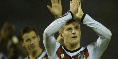 Toni Kroos se coronó campeón del Mundo con la Selección de Alemania. Foto:AFP
