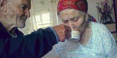 La fotografía que demuestra que existe el amor para toda la vida