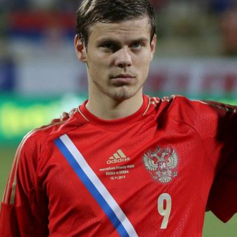 Juega en el Dinamo de Moscú Foto:Getty