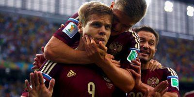 Marcó un gol ante Argelia Foto:Getty