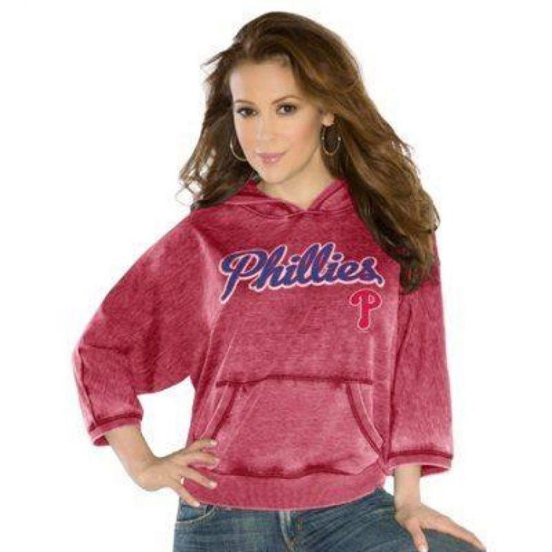 Phillies de Philadelphia de la MLB Foto:Facebook: Touch by Alyssa Milano