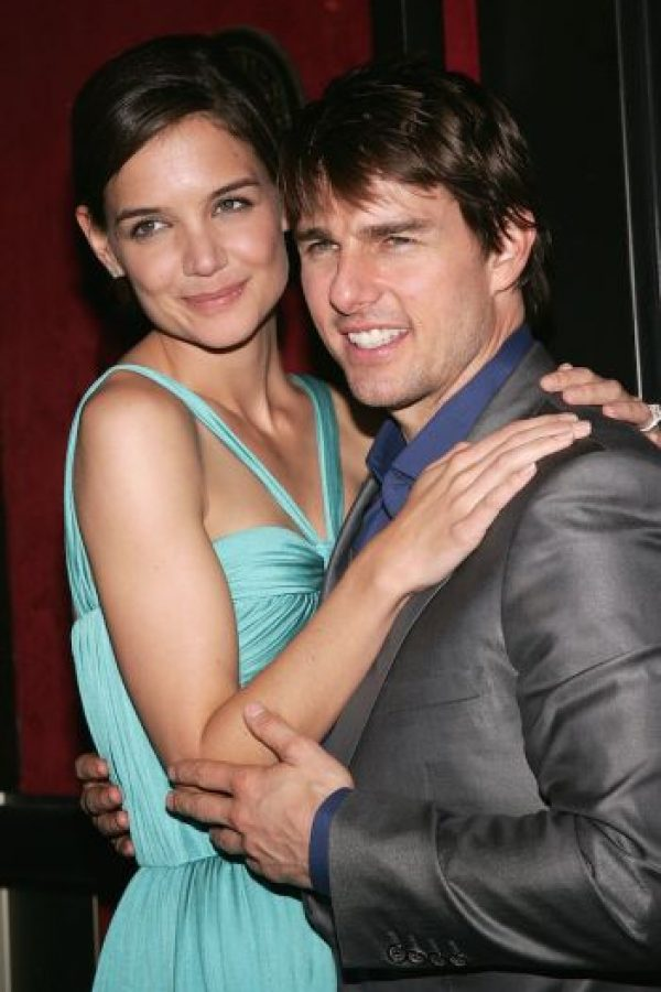 Con Tom Cruise Foto:Getty Images