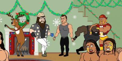 En la grabación aparecen los luchadores del roster principal de la empresa estadounidense Foto:WWE