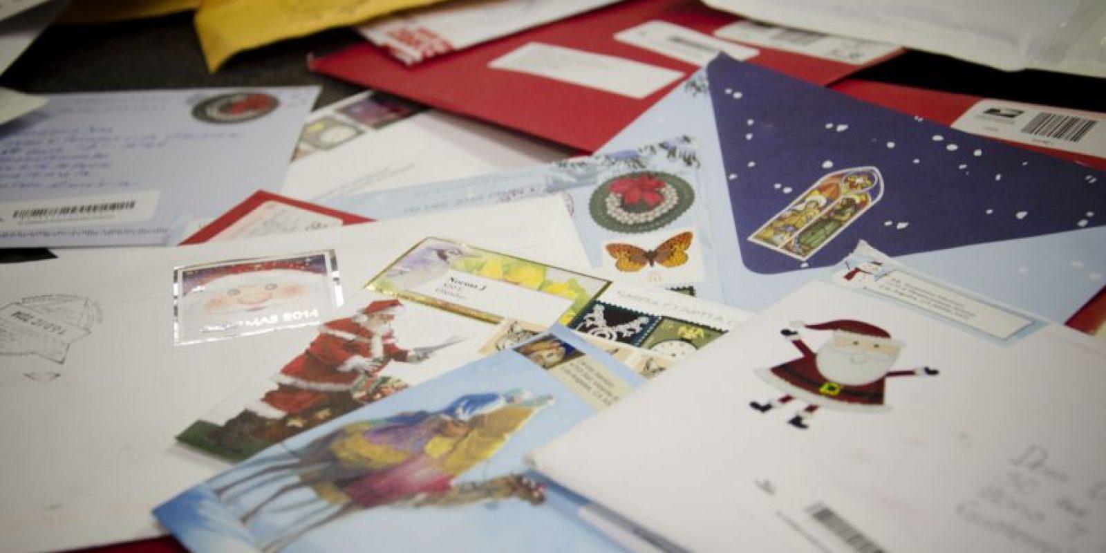 Aproximadamente mil cartas se han recibido este año. Foto:Luis Nájera