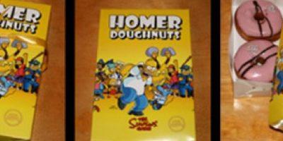 Verdaderas donas de Los Simpsons Foto:Tumblr.com/Tagged-Simpsons-productos