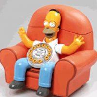 Teléfono de Homero Foto:Simpsoncrazy