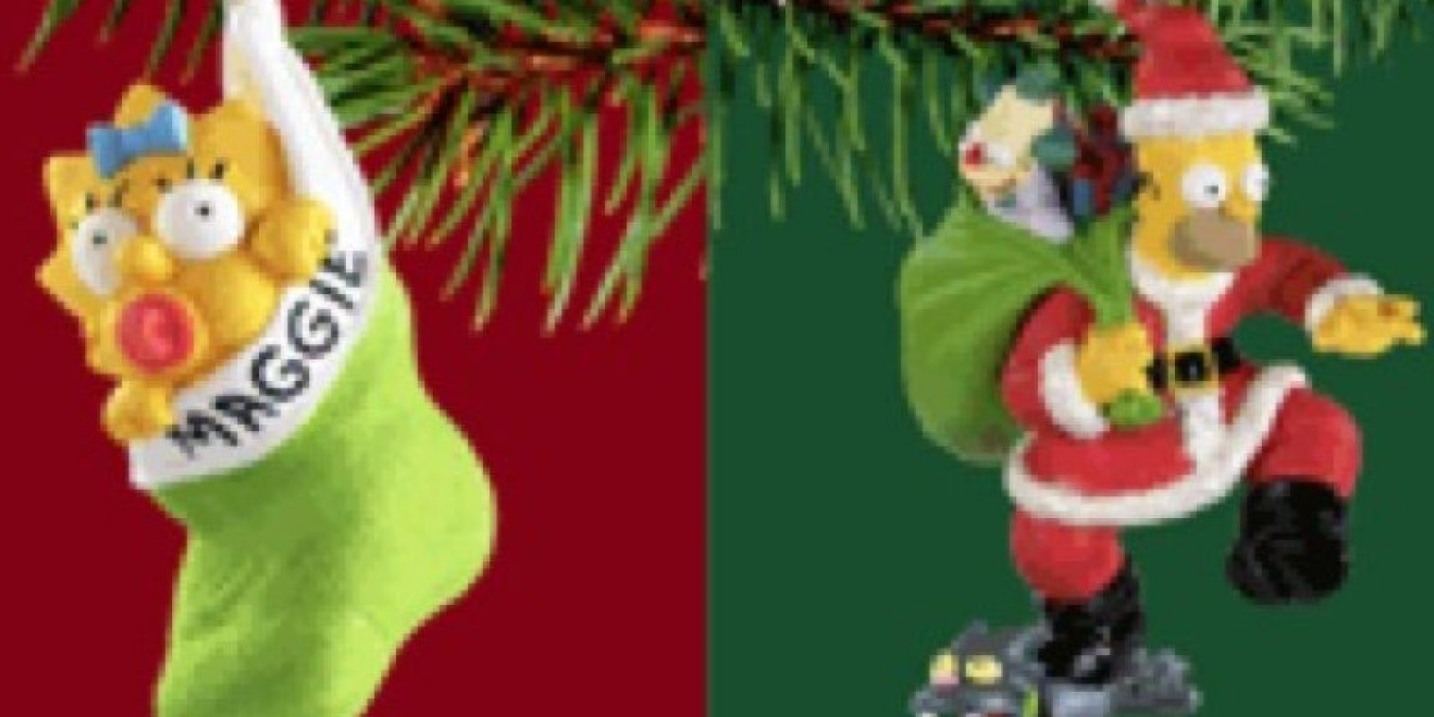 Adornos navideños Foto:Simpsoncrazy
