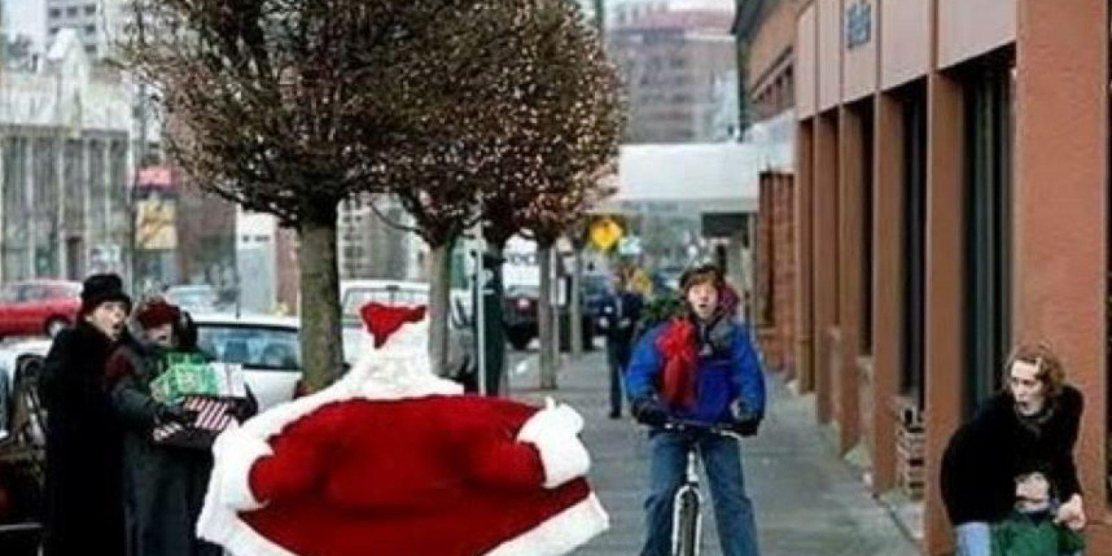 ¡Espera, no, Santa!