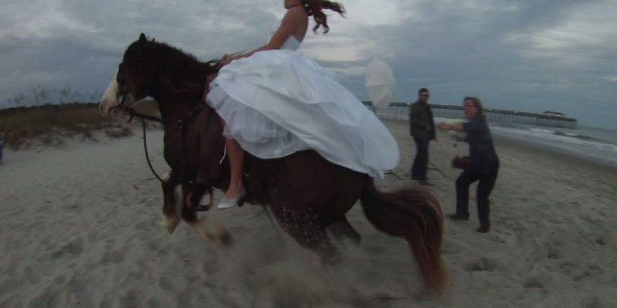VIDEO: Lo peor que les podría pasar en su fotografía de boda