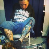 Foto:Vía Instagram: @Tattoosbyfoot