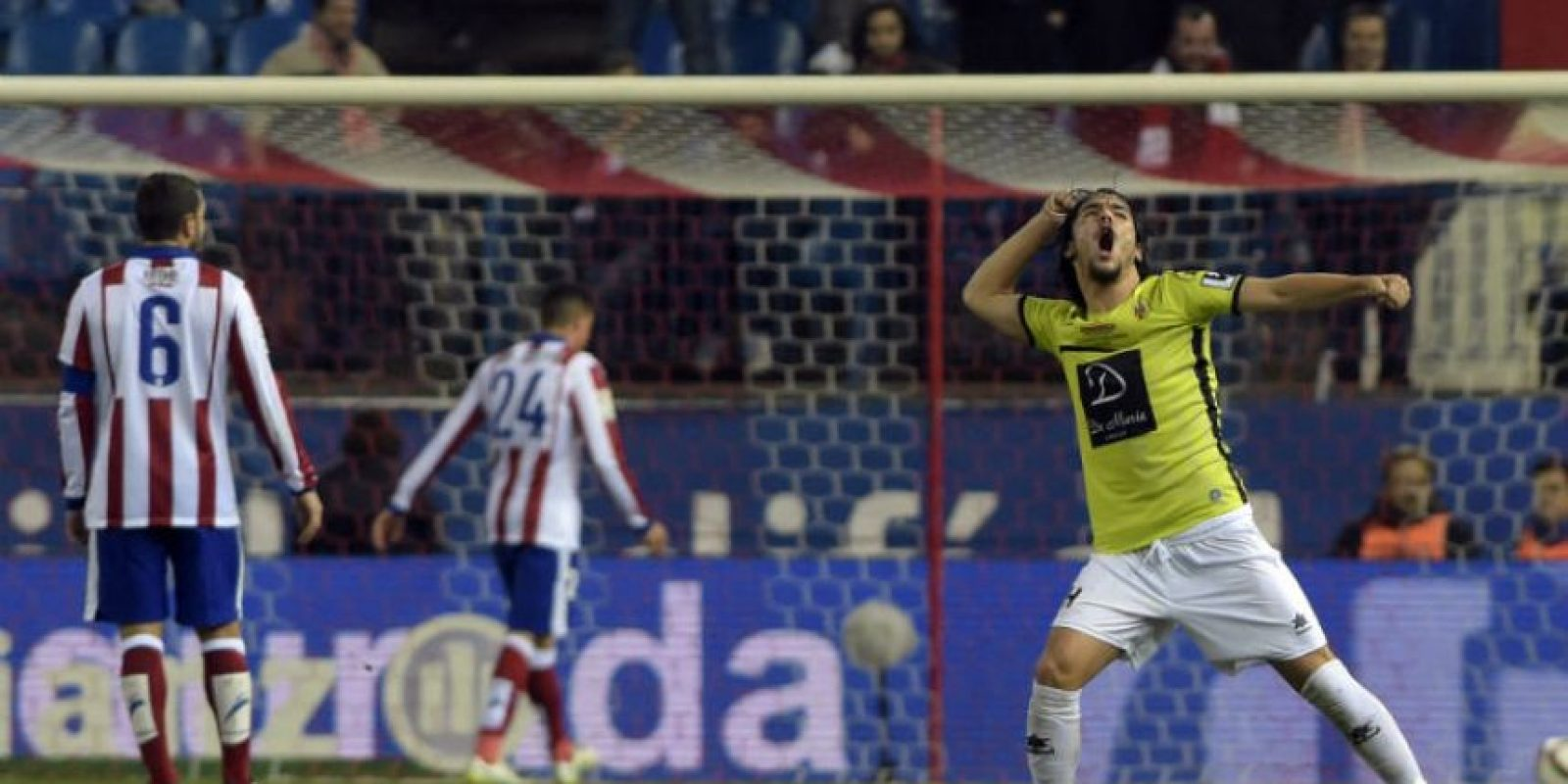 A pesar del empate el Hospitalet no pudo avanzar. Foto:AFP