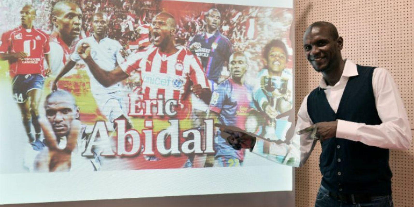 Abidal jugó profesionalmente durante 12 años. Foto:AFP