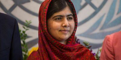 """""""Estoy orgullosa de que yo soy la primer paquistaní … y la primera persona joven, en recibir este premio"""". Malala Yousafzai, Premio Nobel de la Paz (discurso en Birmingham, Inglaterra, donde vive y va a la escuela) Foto:Getty Images"""