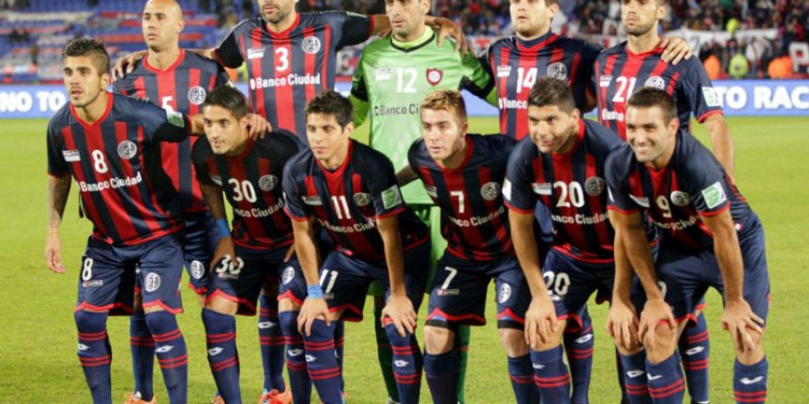 El San Lorenzo se clasificó a la final después de haber derrotado al Auckland. Foto:EFE