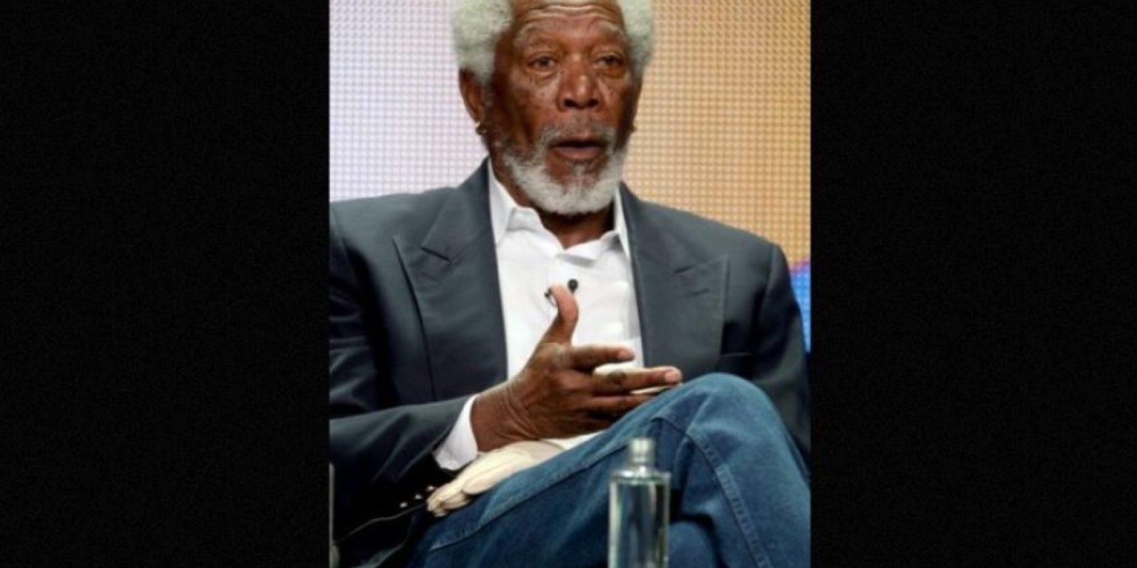 Morgan Freeman, 77 años. Foto:Getty Images