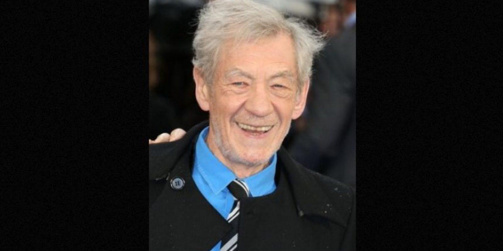 Ian McKellen, 75 años. Foto:Getty Images