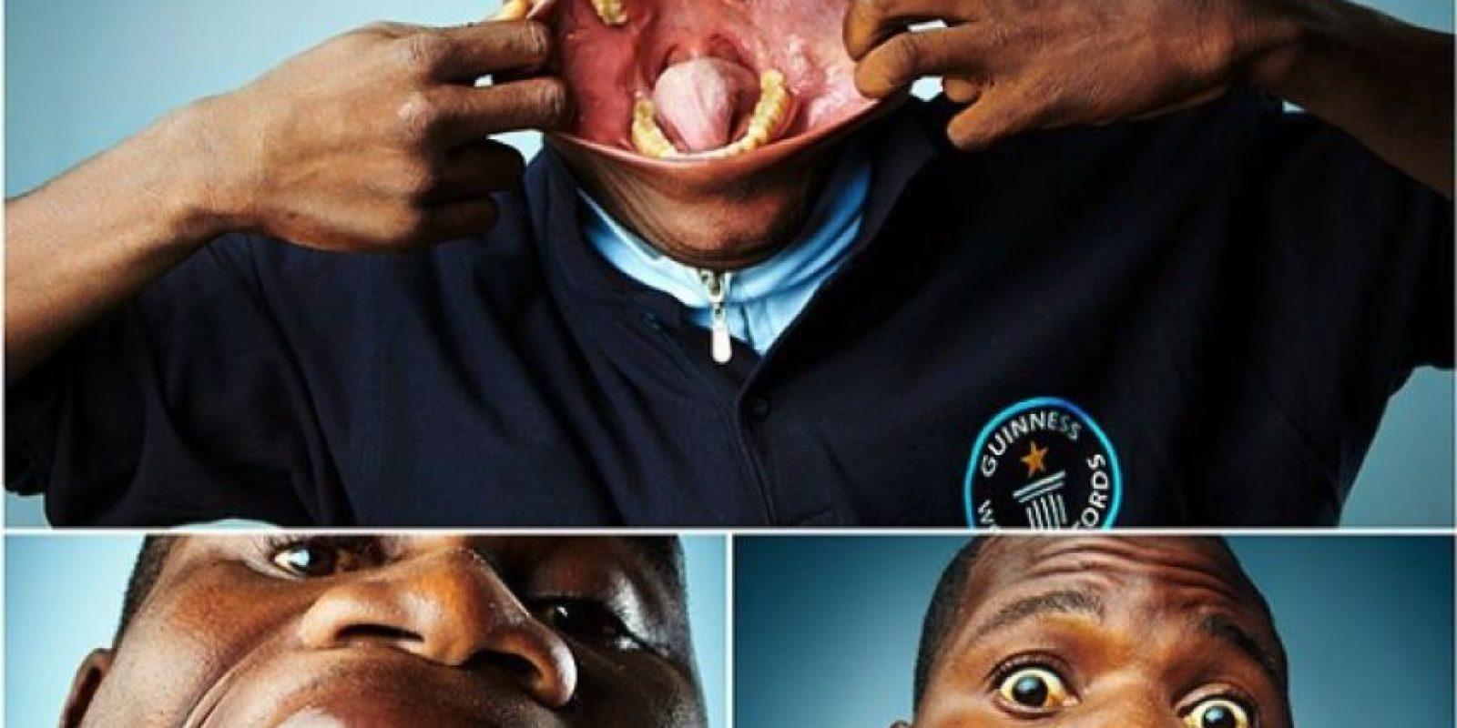 La boca más grande del mundo Foto:Instagram/guinnessworldrecords