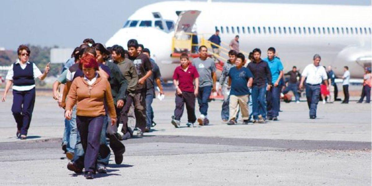 Superada la cantidad de deportados de EEUU