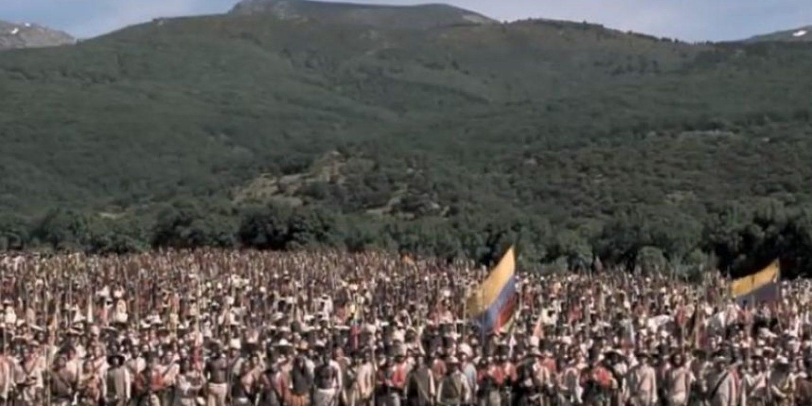 "Inmortalizan su vida en ""Libertador"" Foto:San Mateo Films"
