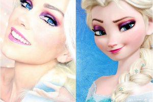 """Elsa de """"Frozen"""" Foto:Instagram @Kandeejohnson"""