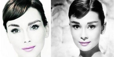 Audrey Hepburn. Foto:Instagram @Kandeejohnson