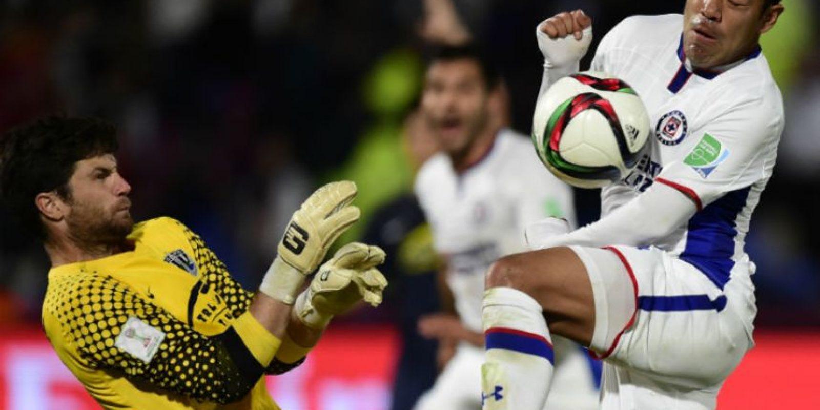 El partido fue peleado. Foto:AFP