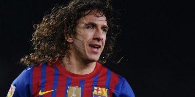 Carles Puyol se consagró en el Mundial 2010, seis Ligas españolas y la UEFA Champions League en tres ocasiones. Foto:Getty Images