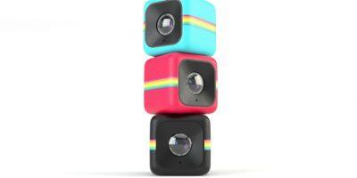 Polaroid Cube: Sorprendente cámara que cabe en la palma de su mano