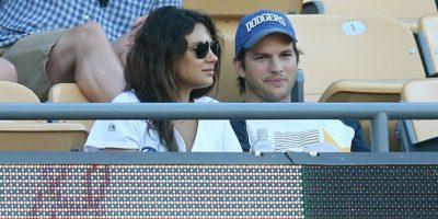 Mila Kunis y Ashton Kutcher Foto:Getty Images