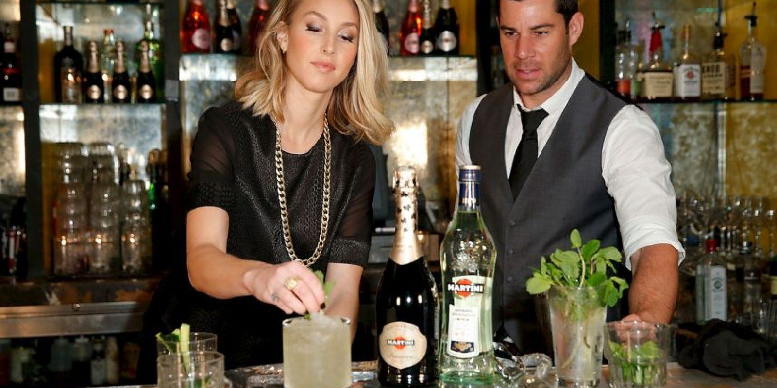 El Pornstar martini es una mezcla de vodka de vainilla Foto:Getty Images