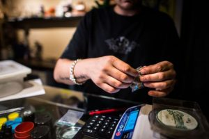 """""""No sabría decir algo respecto al sabor de mis platillos con marihuana, pues yo no me los como. Confío en los degustadores"""", informó a Vice. Foto:Getty Images"""