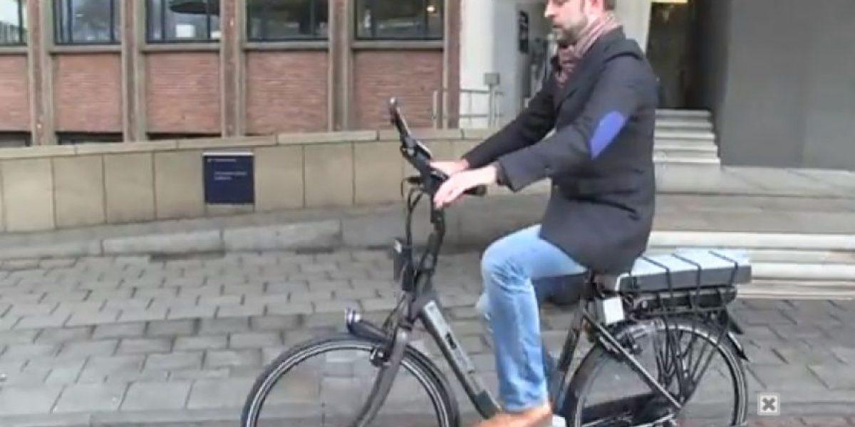 VIDEO. Crean en Holanda la bicicleta inteligente que prevé