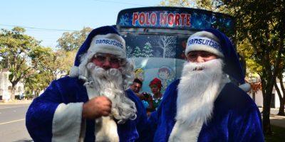 Jo, Jo, Jo, feliz Navidad. Foto:José Castro