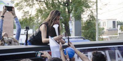 Foto: Las mejores imágenes de la llegada de Karlita