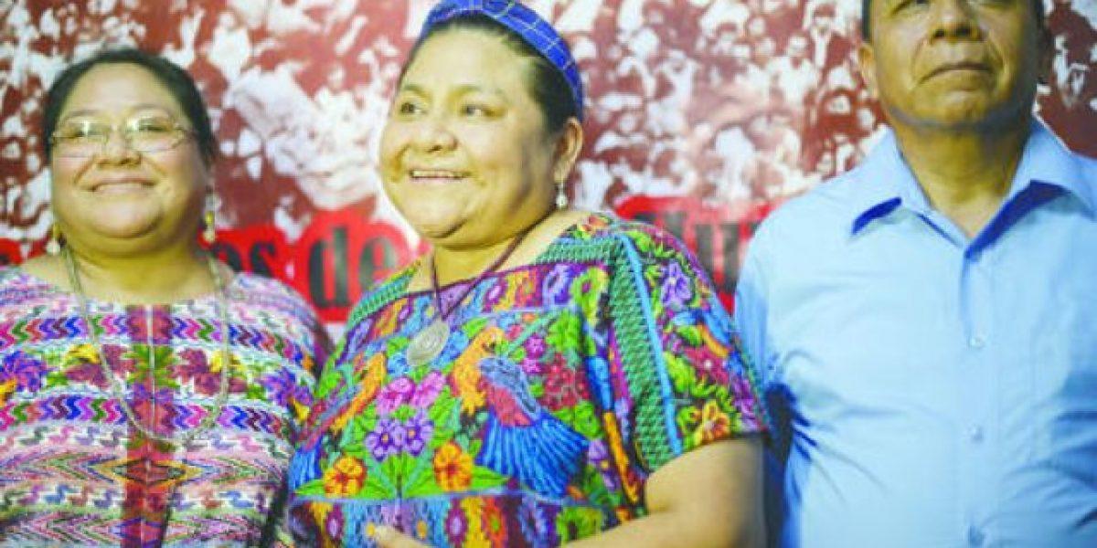 Rigoberta Menchú exige fin de embargo estadounidense contra Cuba