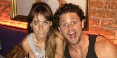 Christopher Uckermann y su novia Foto:Twitter