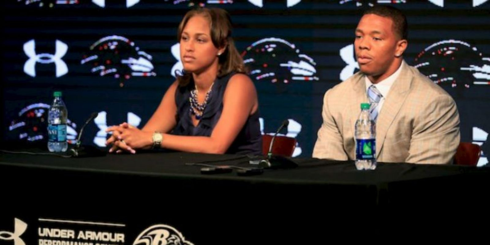 Ray Rice y Janay Palmer Foto: Getty Images
