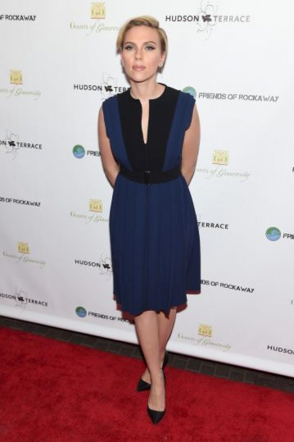 7. Scarlett Johansson Foto:Getty Images Getty Images