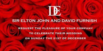 FOTOS: ¡Da el sí por segunda vez! Elton John se casó con David Furnish