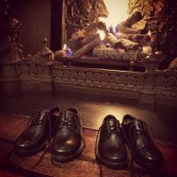 Los zapatos de los novios Foto:Instagram @eltonjohn